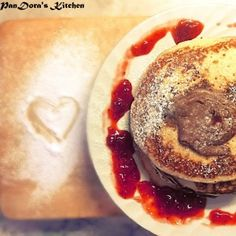 Brunch Time: Time for homemade pancakes!