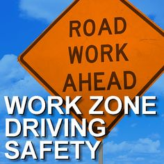 National Work Zone Awareness Week encourages safe driving through highway work zones and remembers those lost in work zone accidents. Work zone driving incidents affect everyone. Driving Class, Driving Safety, Driving Tips, Lanes End, Texas Law, Safety Courses, Road Construction, Travel Route