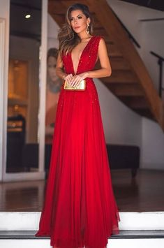 25 Red Prom Dresses Designs For Elegant Woman - Bafbouf Bridesmaid Dresses, Prom Dresses, Formal Dresses, Elegant Woman, Designer Dresses, Beautiful Dresses, Ball Gowns, Party Dress, Fashion Dresses