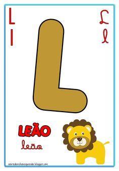 A Arte de Ensinar e Aprender: Alfabeto quatro tipos de letra