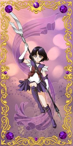 Sailor Saturn Crystal by ElynGontier.deviantart.com on @DeviantArt