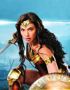 Gal Gadot as Wonder Woman Gal Gadot Wonder Woman, Wonder Woman Movie, Marvel Dc, Gal Gabot, Actrices Hollywood, Dc Characters, Wonder Women, Warrior Princess, Dc Heroes