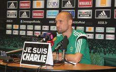 """#JeSuisCharlie Hommage de Renaud #Cohade : """"Nous avons tous été choqués. Les mots ne sont pas assez forts""""#JeSuisCharlie #Je_Suis_Charlie #I_am_Charlie #IAmCharlie #CharlieHebdo #Charlie_Hebdo #CHARLIE #anti_terrorism"""