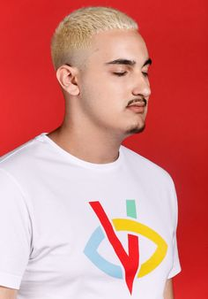 Visionnaire T-Shirt Visionnaire Blanc Yeux Fermés Bigflo et Oli