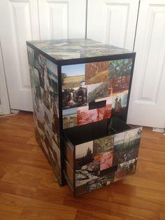 Craftibilities: DIY- Wallpaper Filing Cabinet Makeover - Tutorial ...