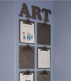 Great kids art idea