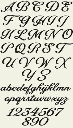 alphabet fonts to print for free | Letterhead Fonts / LHF Packard Script / Script Fonts