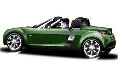 Ac Ace based on a smartcar roadster