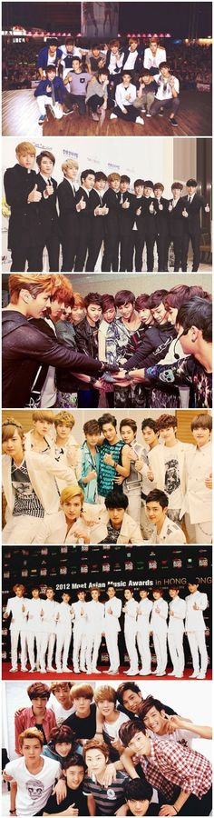 Ah~ the old days~ i miss them~ don't you guys too? Keke well Exo has grown up now and stuff happened but through out those days we will still support each and everyone of them no matter what fangulls! We exotics and exostans are one too~! K Pop, Exo 12, Chanyeol Baekhyun, Exo Group, Kim Minseok, Xiuchen, Exo Members, Btob, 2ne1