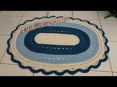 Vídeo Aula Tapete gigante parte 2 -Pink Artes Croche by Rosana Recchia - YouTube