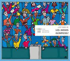Documento del museo olímpico sobre los juegos, en varios idiomas.  Más unidades para trabajar en clase sobre este tema en: http://www.olympic.org/museum/visit/schools/teaching-resources