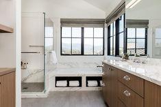 A Calm Contemporary Home in Northern California   Interior Design by Kendra Nash of Nash Design Group   Photography by Albert Law of Pork Belly Studio   Modern Sanctuary   Bathroom   Contemporary Bathroom   Bathroom Fixtures