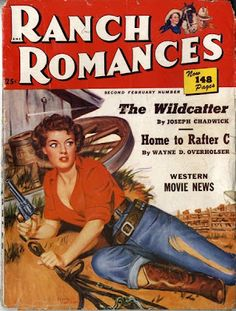 Saturday Morning Western Pulp: Ranch Romances, Second February Number, 1951 Roy Lichtenstein Pop Art, Industrial Paintings, Gagosian Gallery, Annie Oakley, Romance Art, Comic Book Style, Printed Balloons, Pulp Magazine, Romances