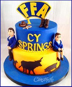 FFA Cake - Cypress TX Caketopolis