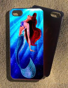 Little mermaid disney Case for iphone 4,5,5s,5c,samsung s2,s3,s3 mini,s4,s4 mini,s5,blackberry, htc case.