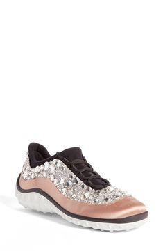 e7d5863a68eda Miu Miu Studded Sneaker (Women) (Nordstrom Exclusive) available at   Nordstrom Sportschuhe