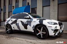 Black&White Camo X6