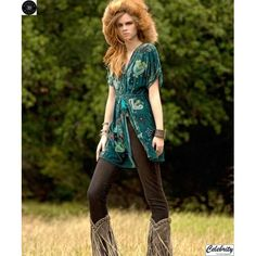 Ojibwa Velvet Top   FALL 2012 Collection (aquifer)