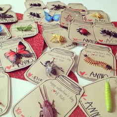 Kiki's List: Lil' Love Bugs.  Good valentine idea now that we aren't allowed to send in candy!