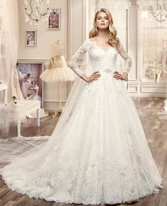 Nicole Suppose Ball gown Wedding Dresses 2016