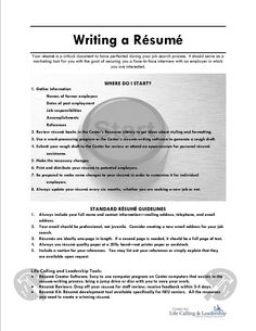 writing a resume online resourceswriting a resume cover letter examples