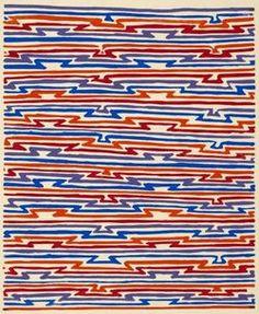 Sonia Delaunay designed textile '20s '30s