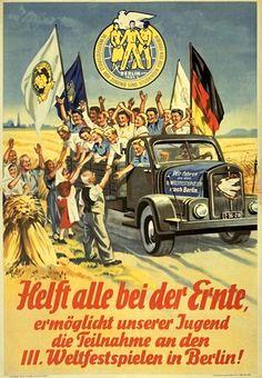 DDR-Propaganda Plakat