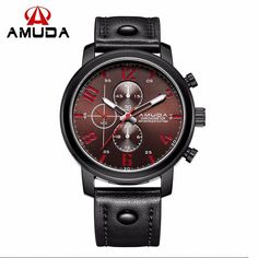 Fashionable Mens Quartz Wrist Watch #menswatch #watches #dualdisplay #outdoors #climbing #military