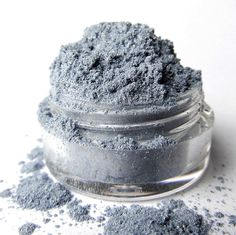 Blue Mineral Eyeshadow ' Dolphin' by MyBeautyAddiction on Etsy