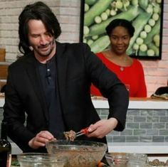 "KeanuReeves #keanu Keanu Reeves is the guest, Monday, February 6, 2017 on ABC's ""The Chew."" ""The Chew"" airs MONDAY – FRIDAY (1-2pm, ET) on the ABC Television Net."