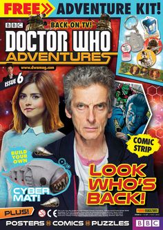 All New Doctor Who Adventures Magazine Issue 6