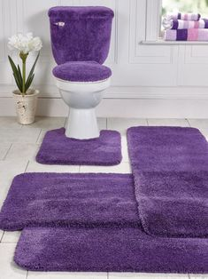 Add plush comfort and style to your bathroom with this bath mat runner from Blair! This bathroom runner rug comes in a rainbow of colors for every décor.