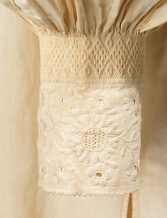 Spanish wedding shirt mid 18th century.  (With acknowledgment to http://www.metmuseum.org)