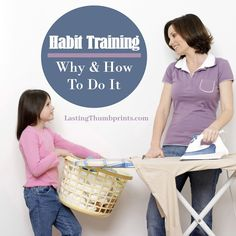 Help your child develop good habits with these tips on habit training. You'll also find a free printable habit tracker to help encourage progress!