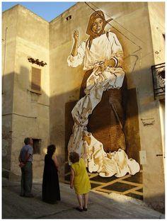 Murale a Sardegna