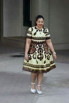 #idea Latest African Fashion Dresses, African Print Dresses, African Print Fashion, African Dress, Fashion Prints, Ankara Fashion, African Prints, African Attire, African Wear