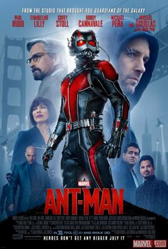 New Poster for Marvel's ANT-MAN Features Main Cast