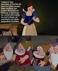 Si las películas Disney tuvieran verdadera conciencia feminista