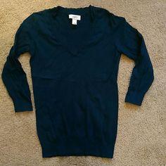 LOFT sweater Thin sweater material. 3/4 length sleeves LOFT Sweaters V-Necks