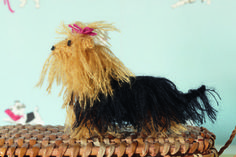 Yorkshire Terrier from Best in Show: 25 More Dogs to Knit by Sally Muir & Joanna Osborne, published by Pavilion.