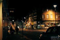 Обои с изображением ночной улицы в Лондоне