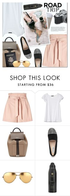"""Summer Road Trip Essentials"" by anna-anica ❤ liked on Polyvore featuring Miss Selfridge, Banana Republic, Michael Kors, Steve Madden, Passport, Linda Farrow, Soleil Toujours and roadtrip"