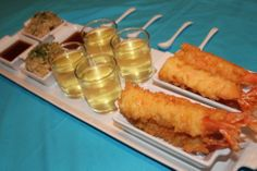 Japanese Tasting Party - Shrimp Tempura, Green Tea, Rice w/ Furikake