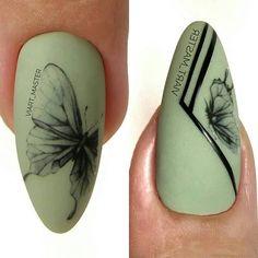 🔊🔥СРОЧНО ПОДПИШИСЬ НА @nail_suny @manicur_nailss @larisa_ilina80 @manicur_nailsss 👍❗ 📢СТАВЬ 👍💖ИЛИ👎😱 🔴 Автор @viart_master #идеиманикюра… Gel Designs, Simple Nail Art Designs, Easy Nail Art, Fish Scale Nails, Art Deco Nails, Nail Art Wheel, Butterfly Nail, Fancy Nails, Flower Nails