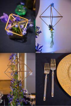 Mod Wedding Inspiration at the Phoenix Art Museum with DePoy Studios | Arizona Weddings Magazine