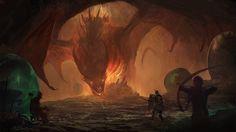 ArtStation - dragons - elements, Silvia Pasqualetto