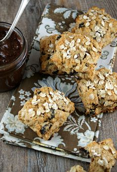 Dried Mission Fig and Oat Scones
