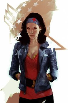 Wonder Woman casual by Ben Oliver / Twitter