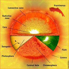 Cycle 2 Wk 8 - Parts of the Sun