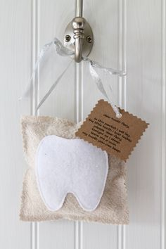 Tooth Fairy Pillow - Handmade